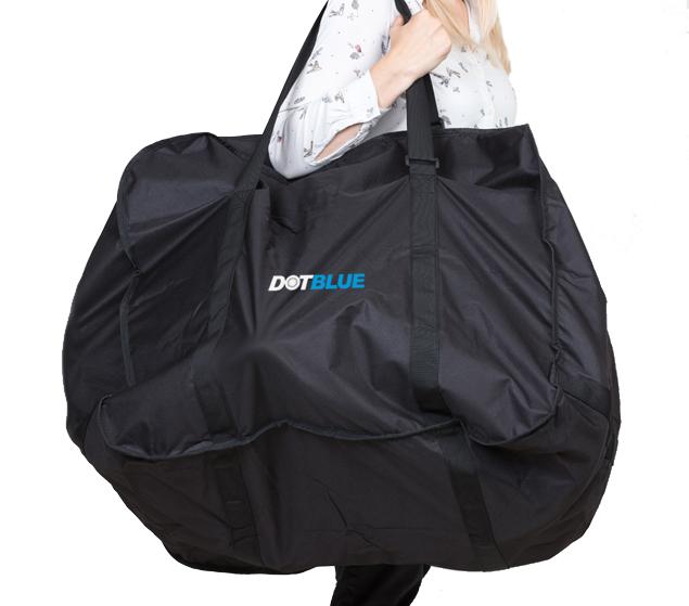 dot blue bikebag 16 blaupunkt referenz h ndler. Black Bedroom Furniture Sets. Home Design Ideas